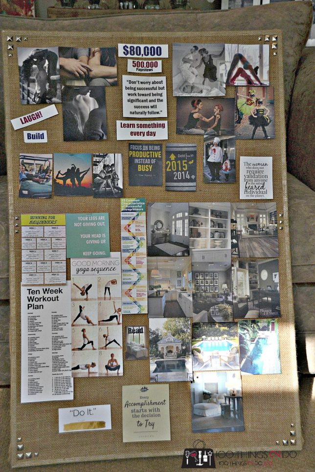100things2do vision board