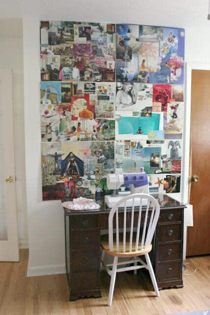 artful parent vision board