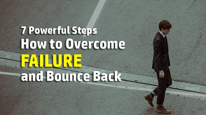 how to overcome failure in life