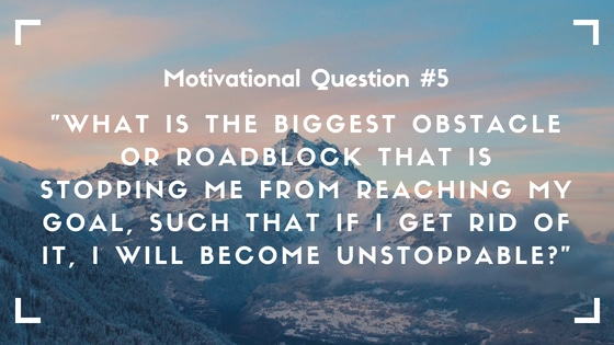 motivational question 5
