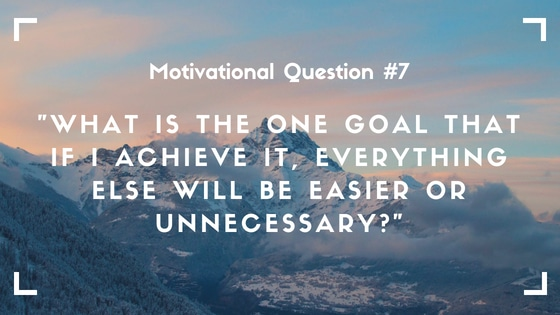 motivational question 7