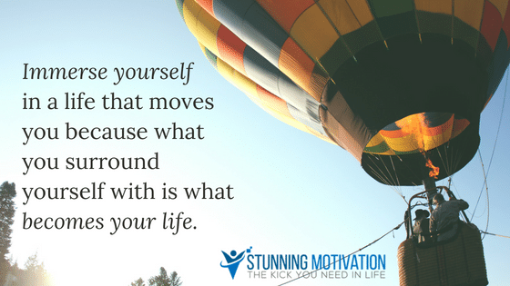 immerse your life with your goals