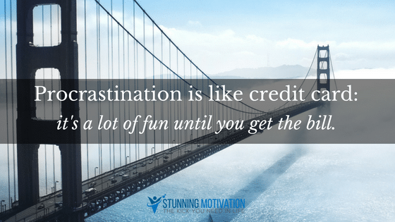 procrastination quote