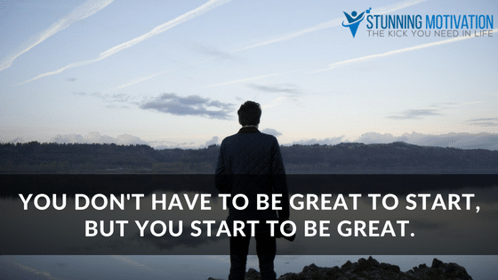 start with greatness
