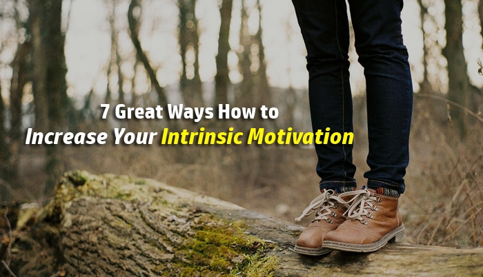increase intrinsic motivation