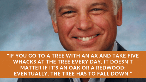 jack canfield consistent quote