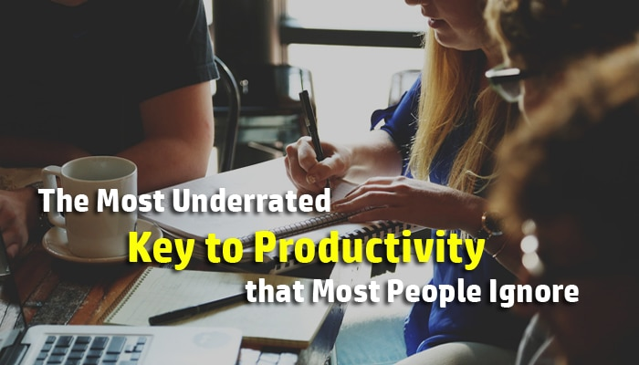 key to productivity