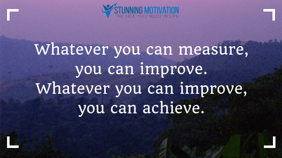 measure your goal