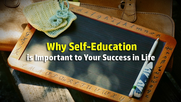 self education important success