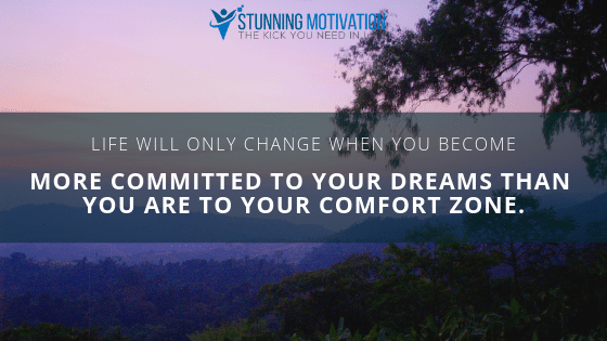 Expand and go outside your comfort zone