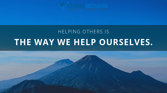 Inspire and help others