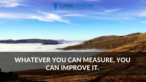 measure and track your goals