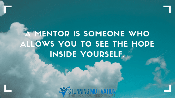 Get a mentor for success