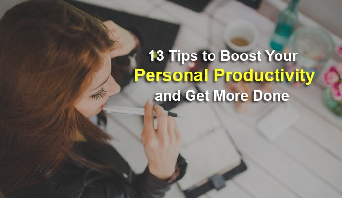 personal productivity tips