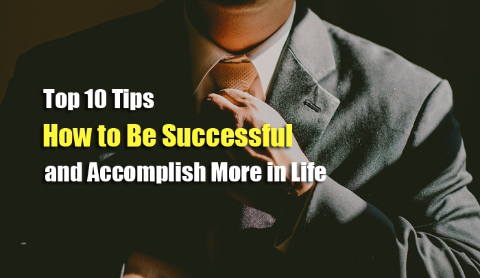 tips to be successful