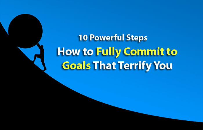 commit to your goals