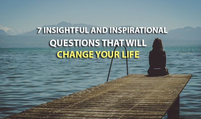 ask questions change life