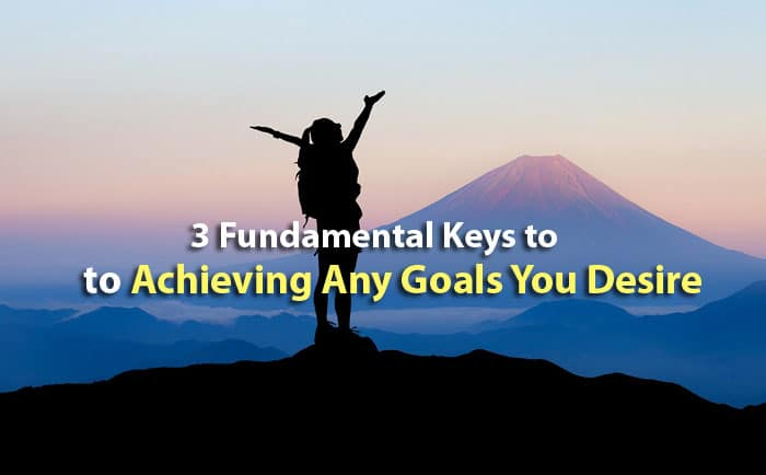 keys to achieve goals
