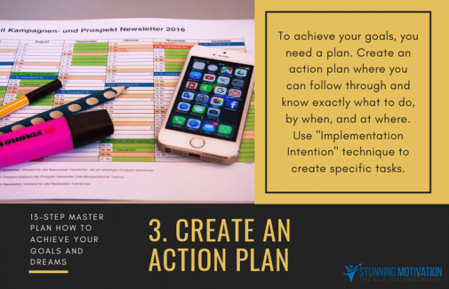 3 create action plan