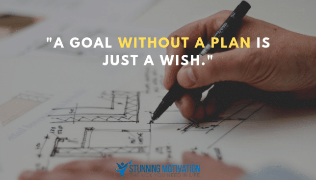 goal without plan quote