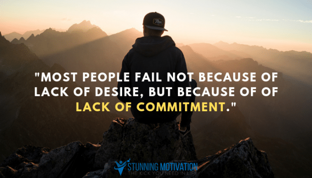lack commitment quote