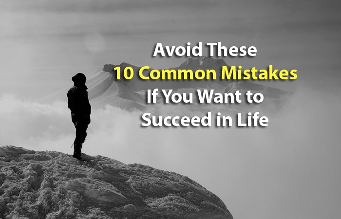 success mistakes