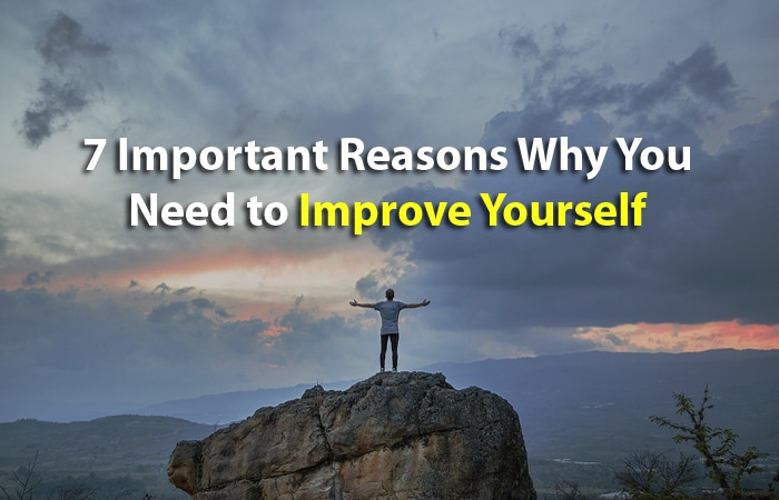 why improve yourself