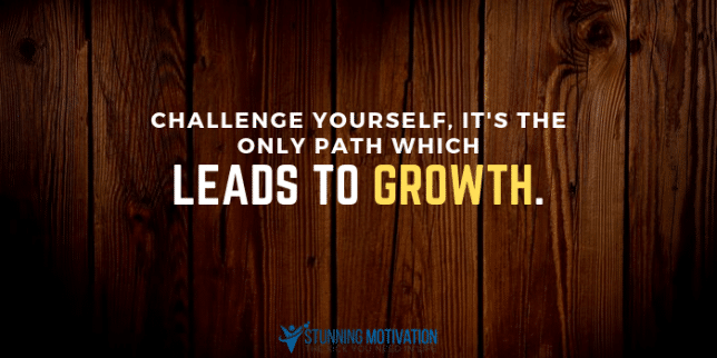 challenge yourself quote