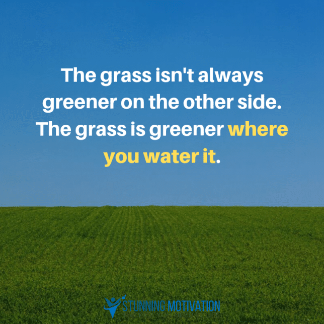 greener-grass-quote