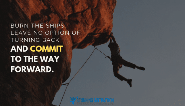 commit to the way forward