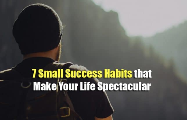 small success habits