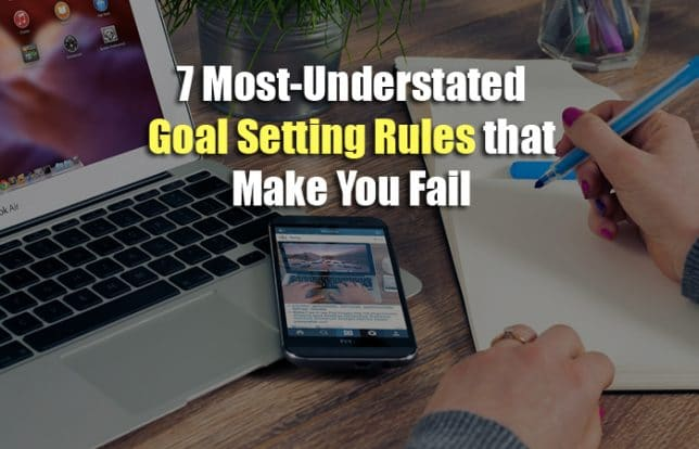 understated goal setting rules