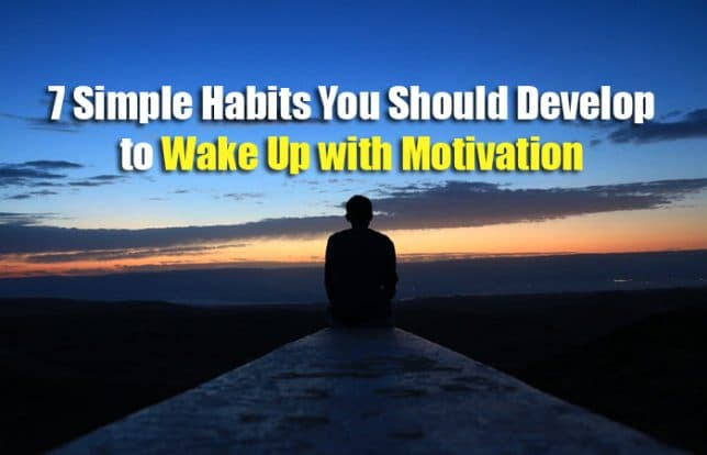 simple habits for motivation