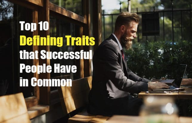 successful people traits